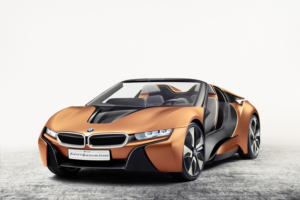 iVision Future Interaction concept de BMW