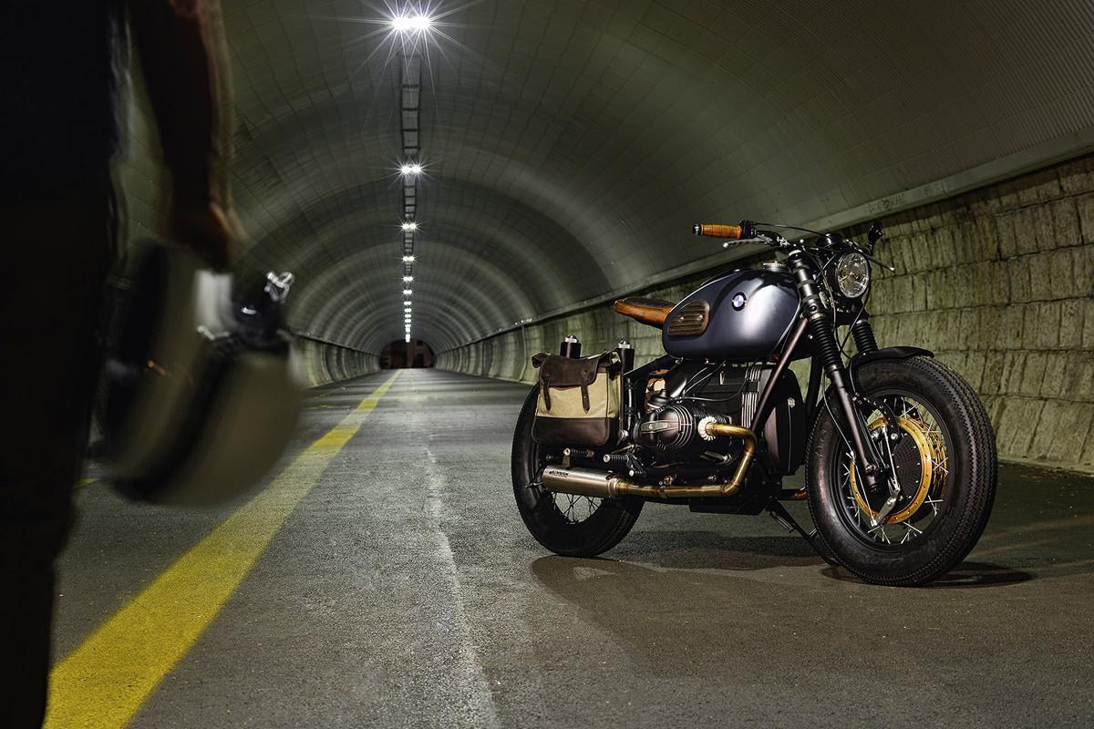 """ER Motorcycles presenta su más reciente motocicleta personalizada:  La BMW R69S """"Thompson"""""""