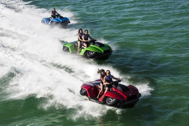 Quadski XL por Gibbs Sports Amphibians: El vehículo más divertido tanto en tierra como en agua