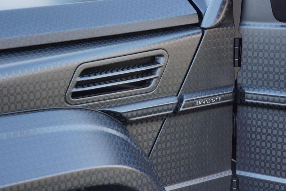 Mansory Convierte Una Mercedes G63 AMG En El GRONOS G63 AMG Black Edition 2016