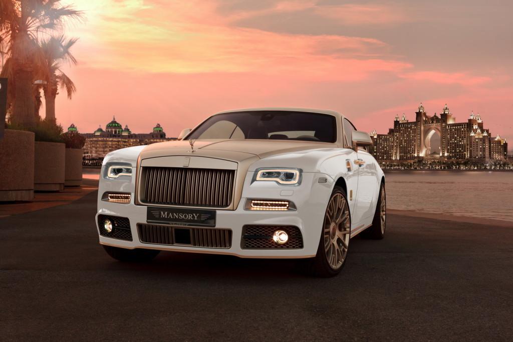 Mansory Agrega Oro & Potencia Al Ya Lujoso Y Potente Rolls-Royce Wraith