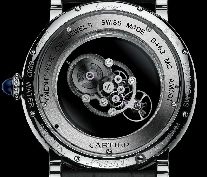 Cartier Rotonde de Cartier Astromystérieux: Solo 100 unidades se harán de este exclusivo reloj