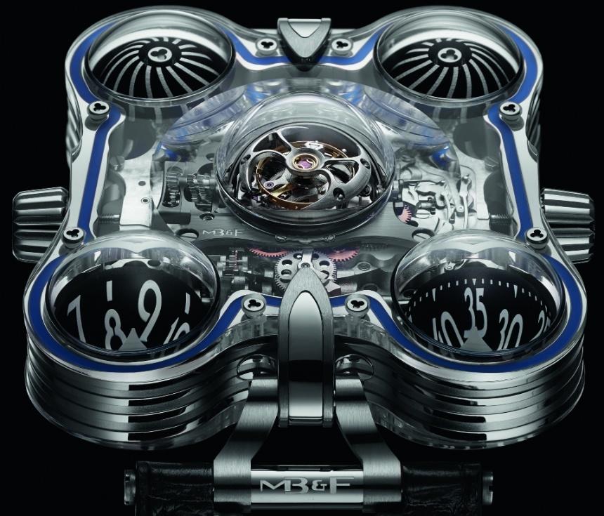 """HM6 SV """"Sapphire Vision"""" con un precio de $400.000: La obra más Costosa hasta la fecha del relojero suizo MB&F"""