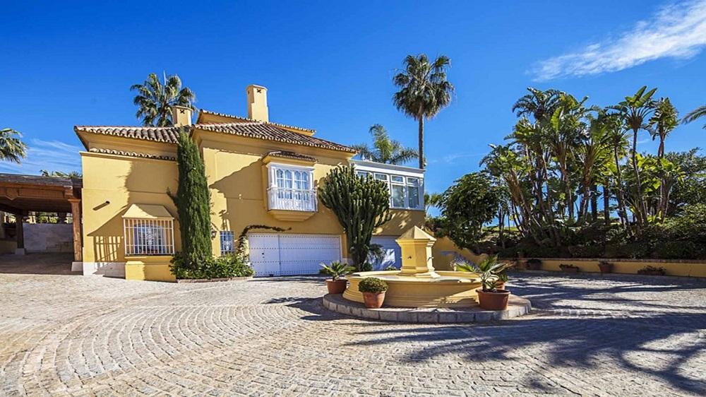 Esta hermosa villa española en Marbella, España se vendió por €9.9 millones