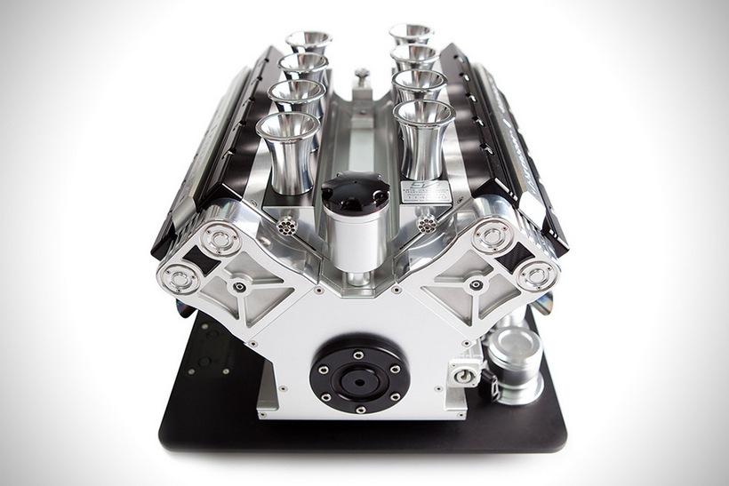 La Poderosa Cafetera Espresso Veloce Titanio Ha Sido Diseñada Como Un Motor De Grand Prix