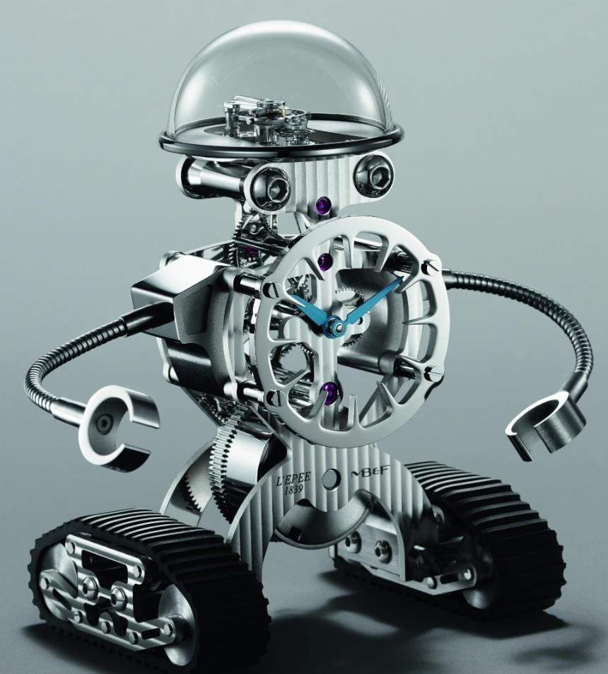 SHERMAN: Un reloj de edición limitada en forma de robot por MB&F
