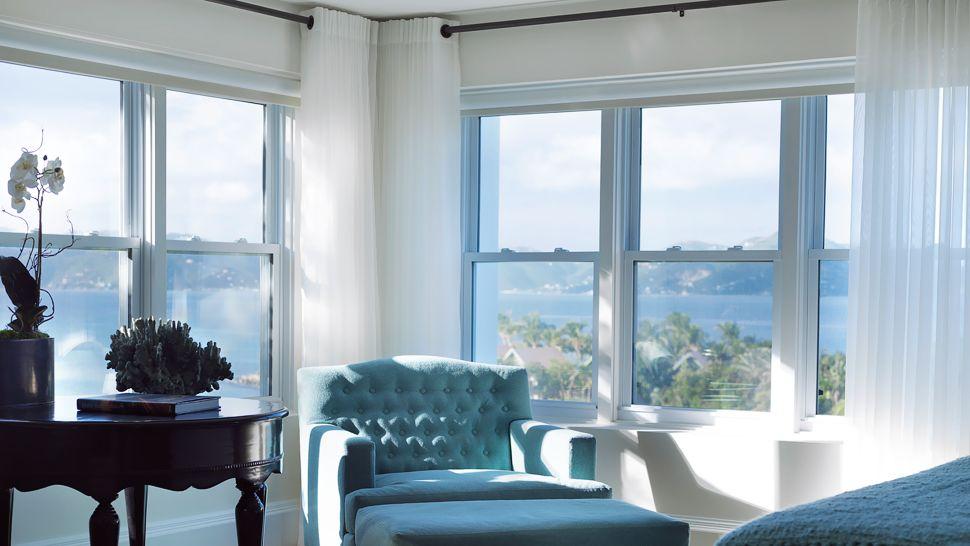 La escapada romántica más exclusiva es en las Islas Vírgenes Británicas.