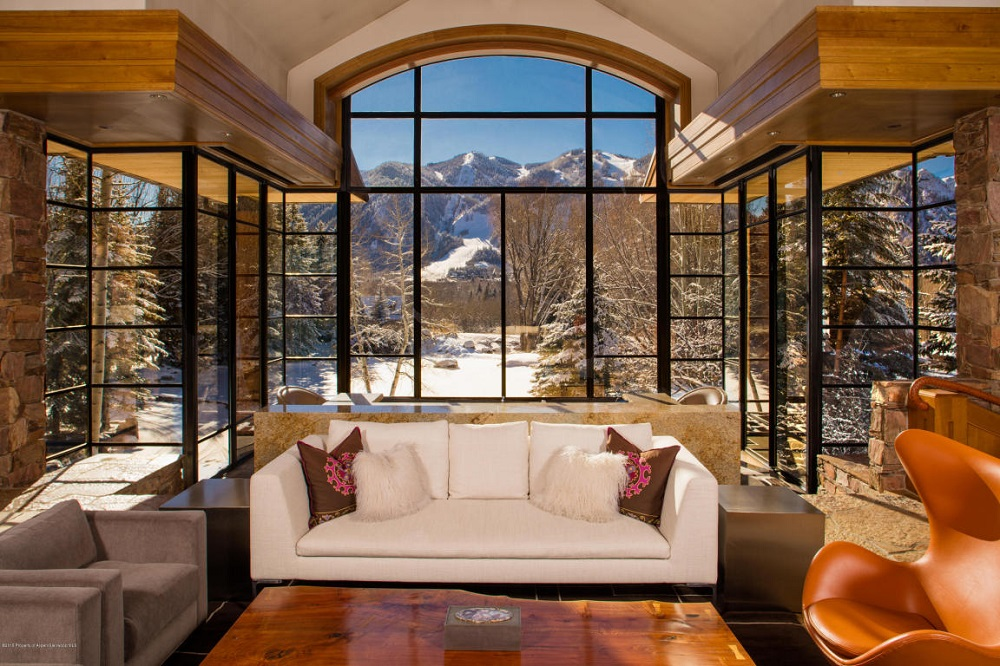 The Pond House: Ultra lujosa obra maestra en Aspen, Colorado ahora a la venta por $34,9 millones