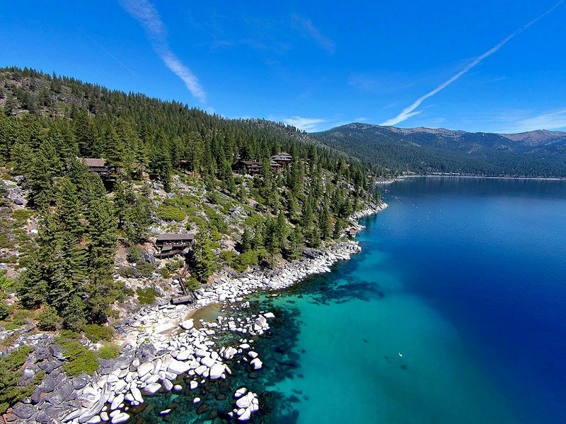 Summertide: Esta Legendaria Propiedad Frente al Lago Tahoe, Está A La Venta Por $19.5 Millones