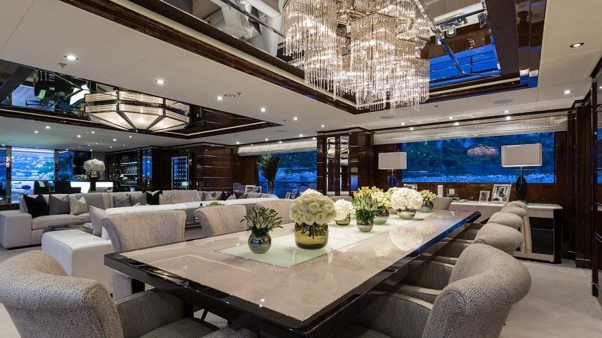 Echa un vistazo a este ultra lujoso súper yate de $73 millones