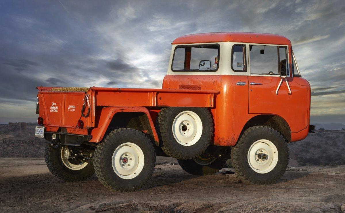 El Jeep FC 150 modelo 1960