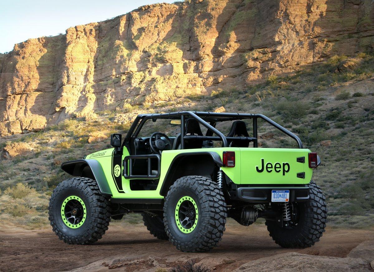 Mira Los Nuevos Siete Conceptos De Todoterrenos Jeep ¡Te Encantarán!