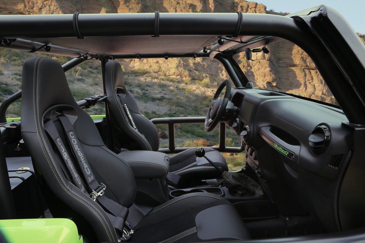 Jeep Wrangler Trailcat de 707 caballos de fuerza