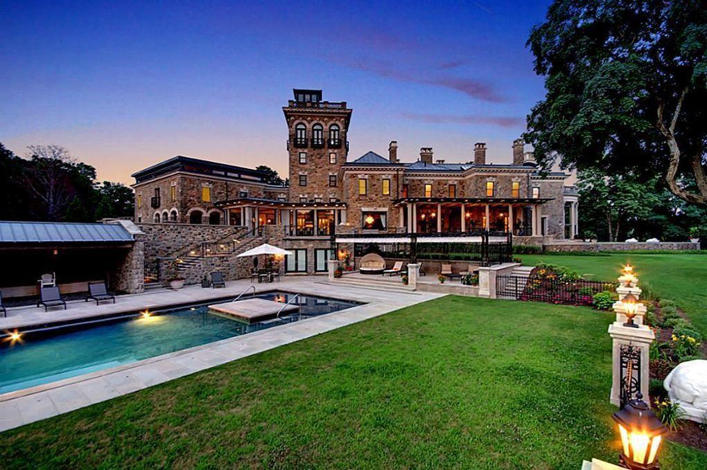 Palaciega Mansión En Nueva Jersey, Estados Unidos A La Venta Por $15 Millones