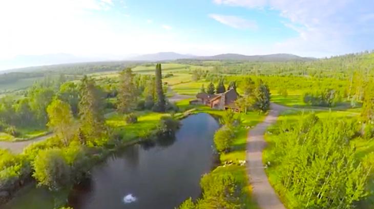 Rancho Crescent H Lodge: Ultra-Exclusiva Propiedad En Jackson Hole, Wyoming A La Venta Por $14.8 Millones