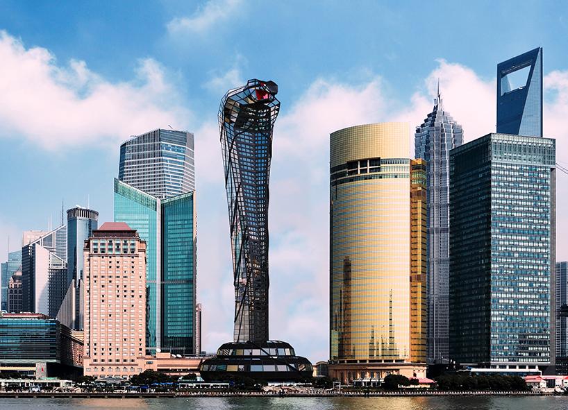 """Multimillonario Ruso Vasily Klyukin Diseña El Rascacielos Asiático """"Cobra"""""""