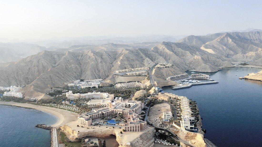 Lujoso Barr Al Jissah Resort & Spa Al Husn En Muscat, Omán