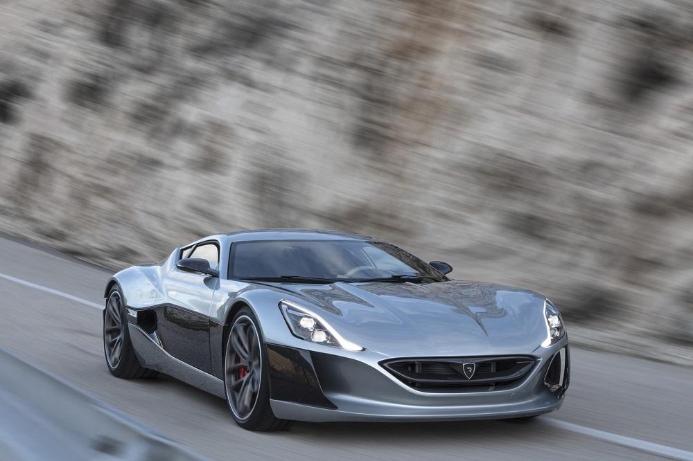 Rimac Automobili Presenta Su Nuevo Súper Coche Eléctrico -- Su Modelo En Producción De 1,088 Caballos De Fuerza