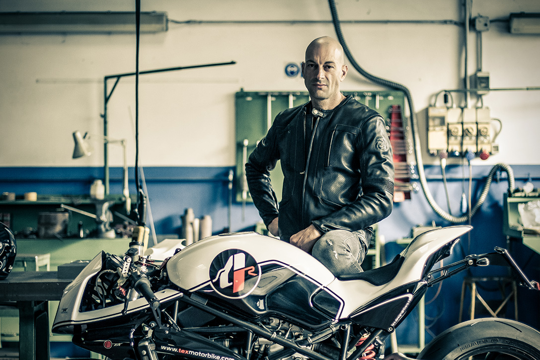 "Diabólica ""Ducati Ice Monster"" Con Rueda Dentada Por Paolo Tesio"