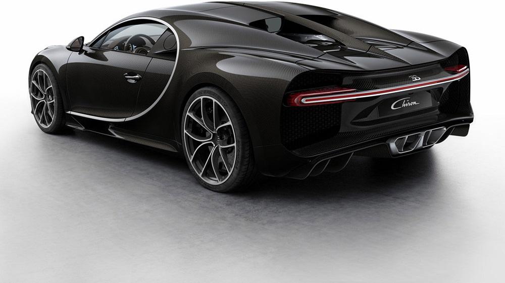 Los Colores Del Bugatti Chiron