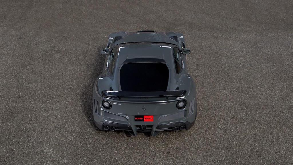 N-Largo: Nuevo Kit De Carrocería Ancho Para El Ferrari F12 Berlinetta Por Novitec Rosso