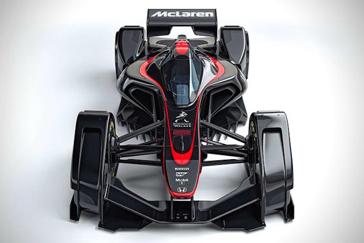 McLaren MP4-X Fórmula Uno Concept