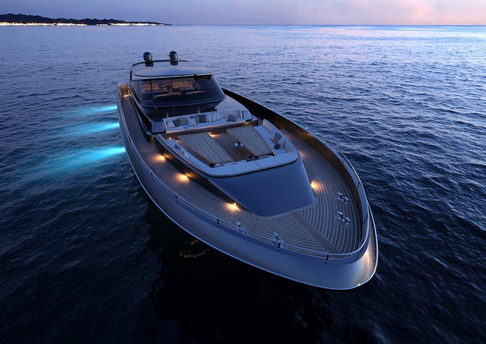 """El súper yate de estilo abierto """"Continental 110"""" es el próximo flamante buque insignia del astillero italiano CNM Yachts"""