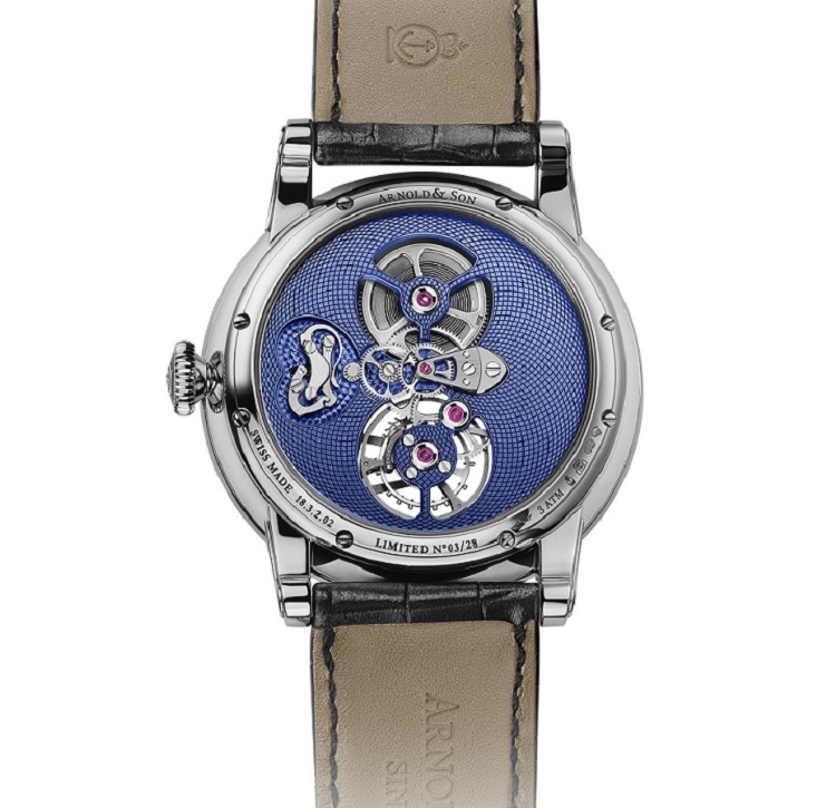 TES Blue Tourbillon de Arnold & Son