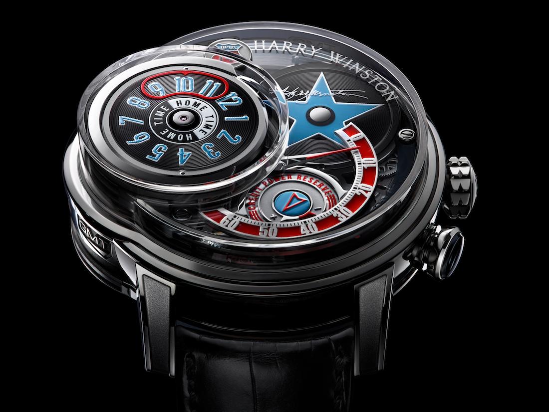 El Espectacular Reloj Harry Winston OPUS 14