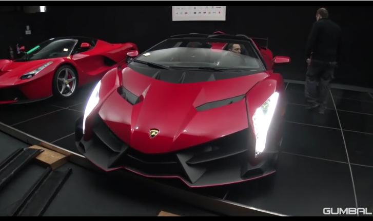 Vea Este Lamborghini ¡Veneno Roadster! De $5.0 MILLONES Por Las Calles
