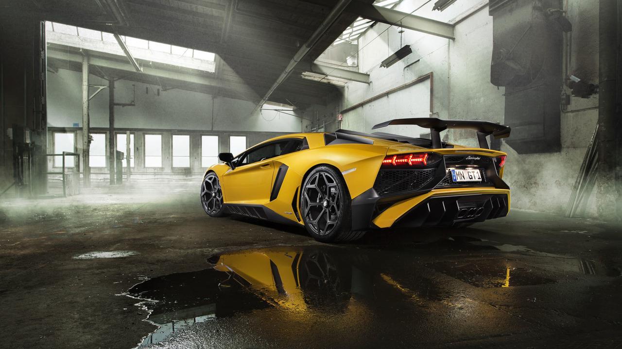 Novietic Presenta El Agresivo Lamborghini Aventador LP 750-4 Superveloce