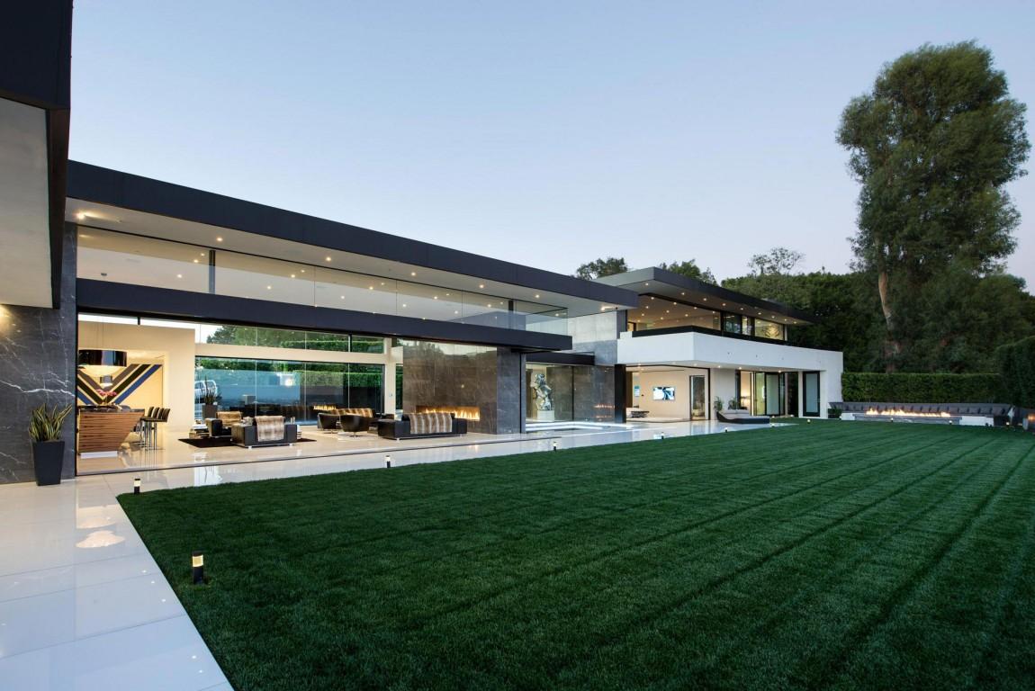 Esta increíble mansión contemporánea en Bel Air, California está a la Venta por $48.500.000