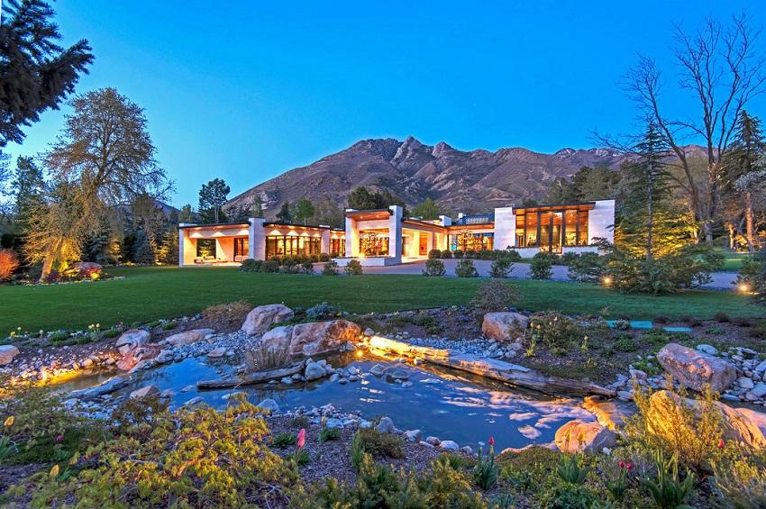 Esta increíble mansión en Salt Lake City, Utah se vendió por $7,4 millones