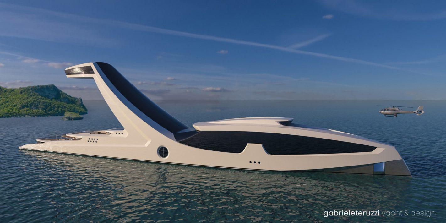 SHADDAI: Futurista Concepto De Mega Yate Por Gabriele Teruzzi