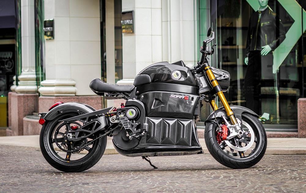 Sora: Motocicleta Eléctrica De Lito Green Motion