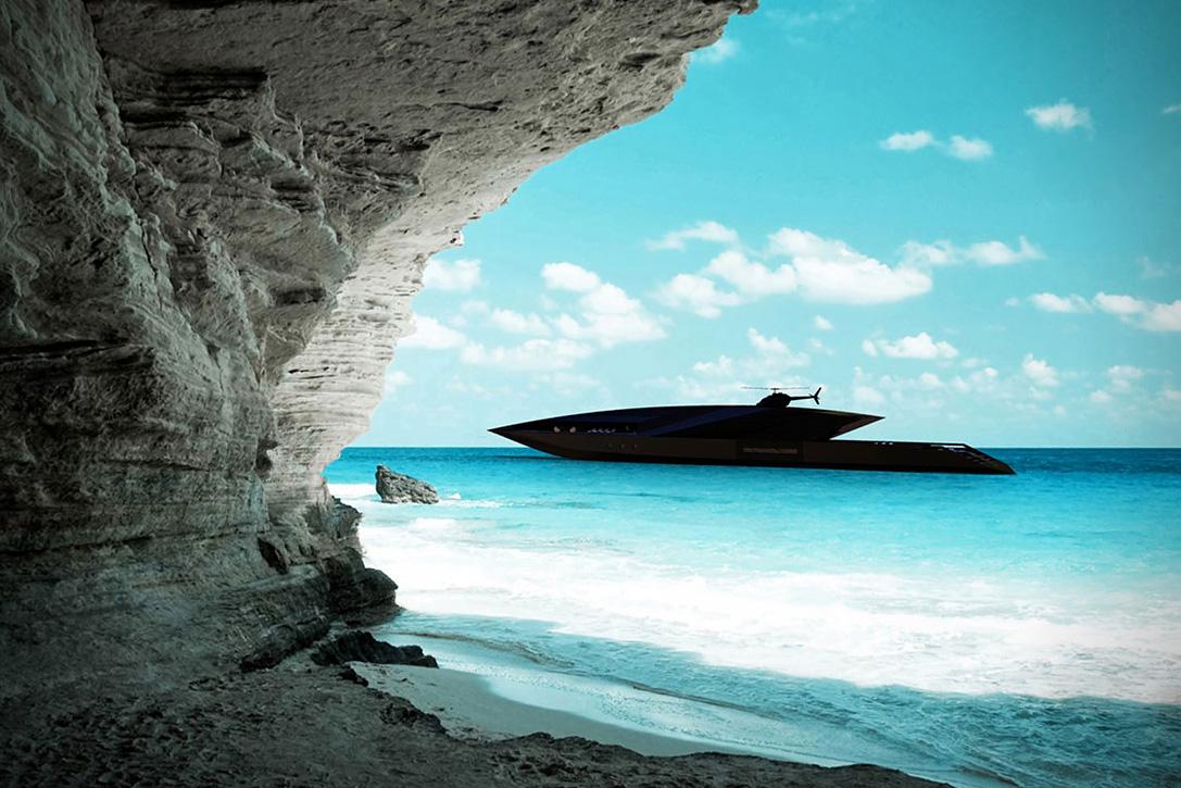 Black Swan: Un Impresionante Super Yate Concepto Diseñado Por Timur Bozca