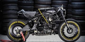"La ""Kraken"" - Una Ducati 750 SS De Iron Pirate Garage"