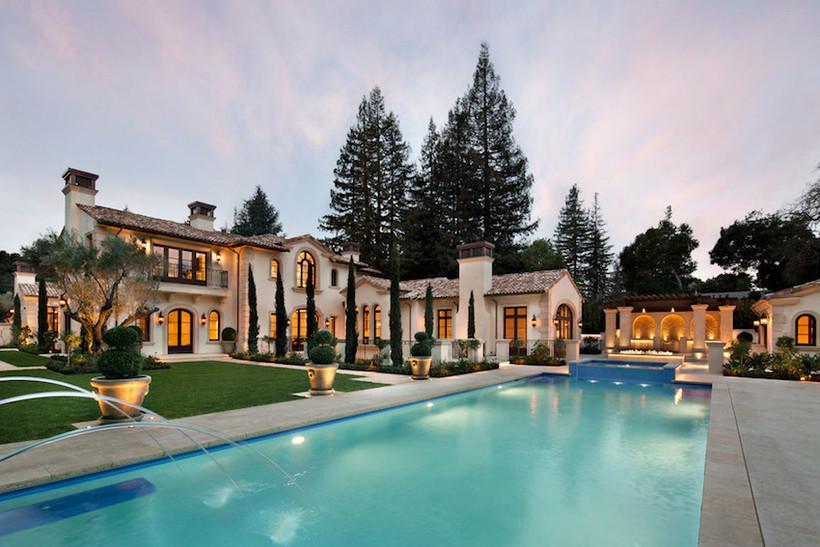 Outdoor de la mansión