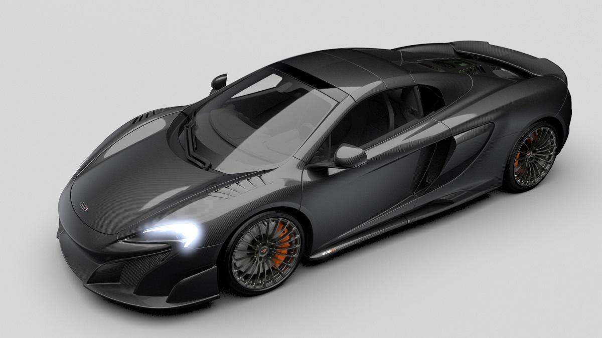 "McLaren 675LT Spider ""Carbon Series"""
