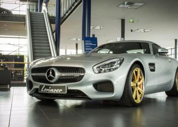 Este Mercedes-Benz AMG GT recibe kit de actualización por Lorinser