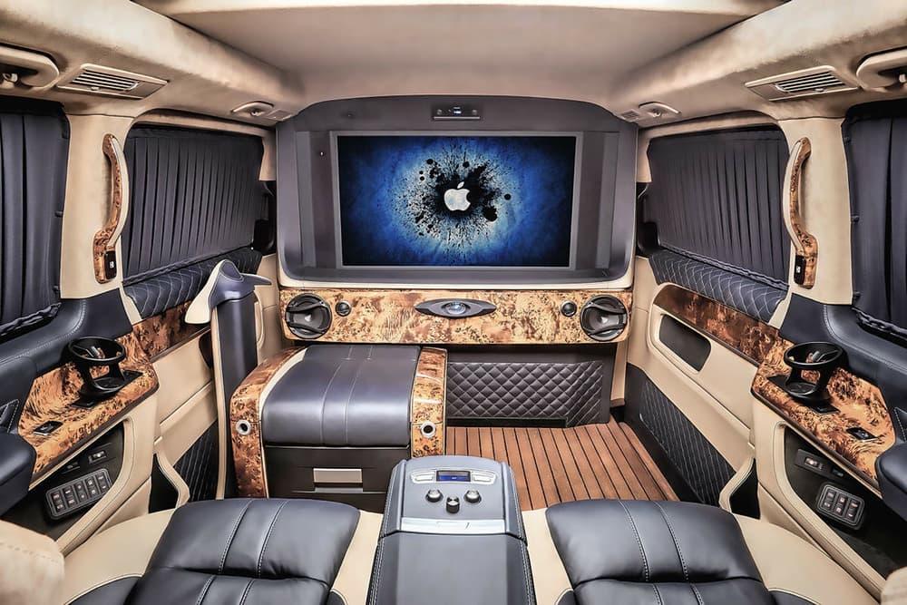 """Tuner Ruso, REDLINE Engineering, Convierte Una """"Mercedes V-Class"""" Y Una """"Sprinter"""" En Lujosas Oficinas Móviles"""