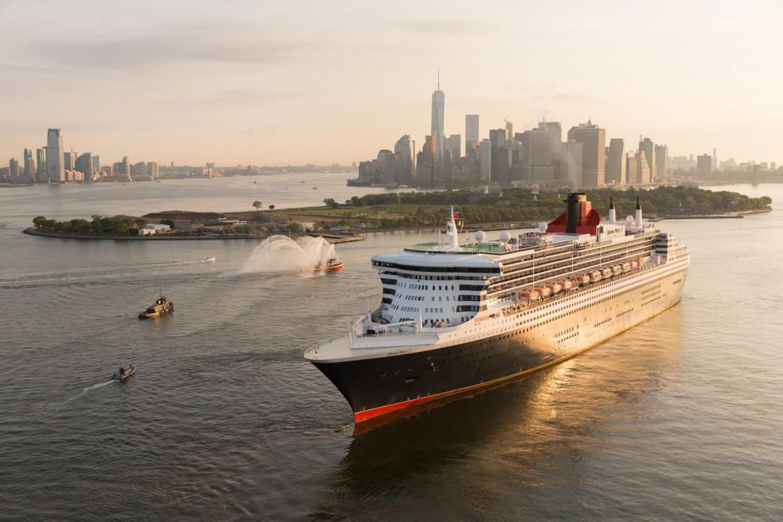 "Lujoso Crucero ""Queen Mary 2"" Por Cunard"