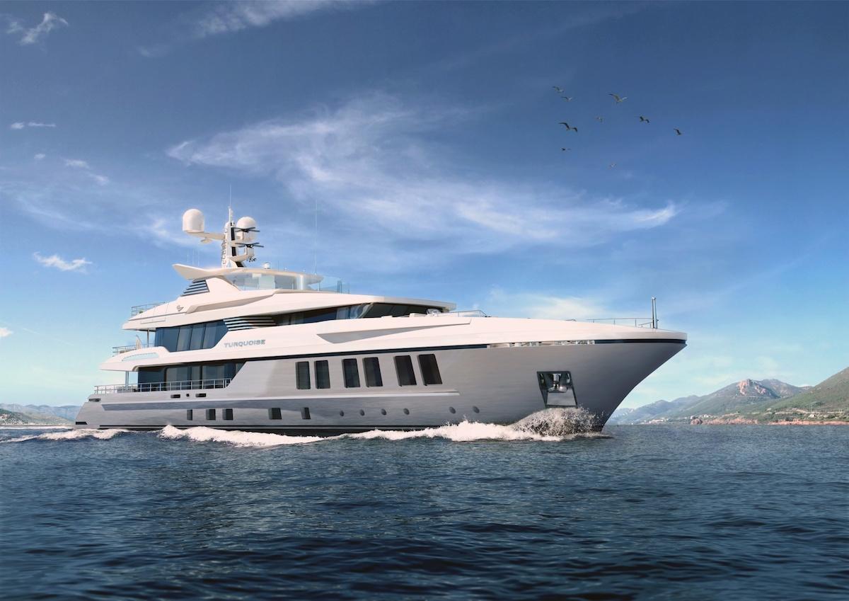 TURQUOISE 47M: Lujoso Mega Yate De Turquoise Yachts