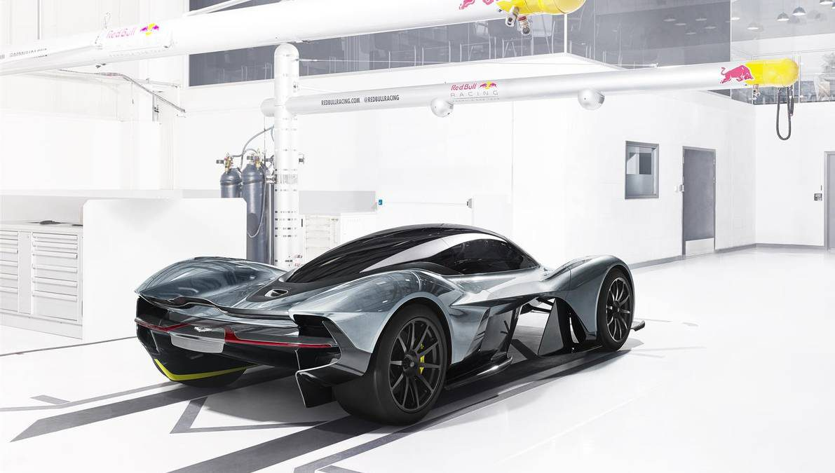 Aston Martin & Red Bull F1 Reveló Su Nuevo Hypercar: AM-RB 001