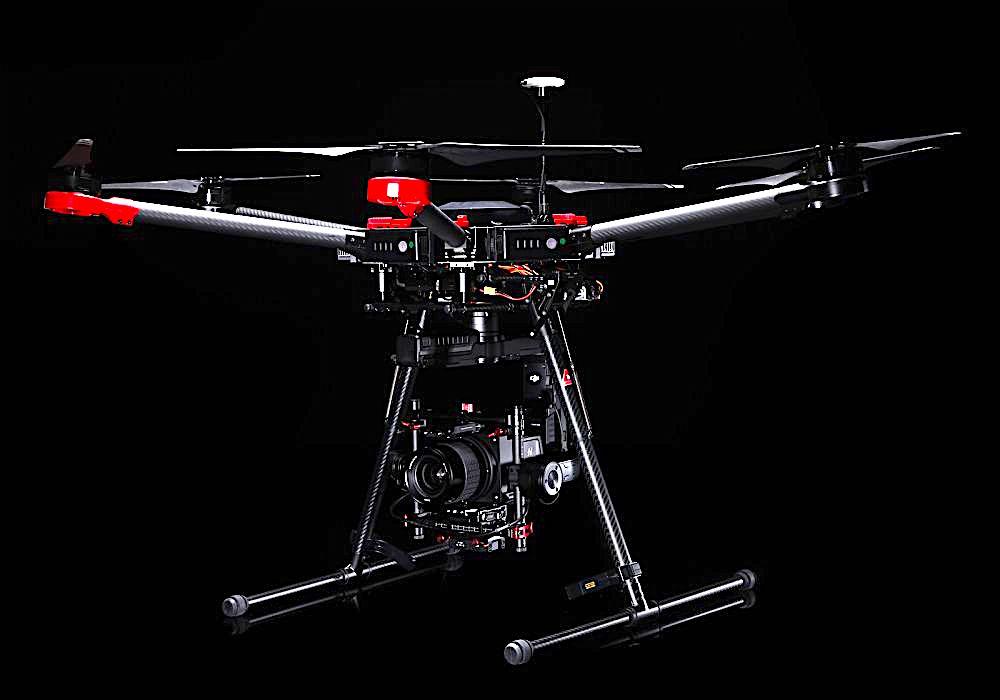 Hasselblad & DJI Unen Fuerzas Para La Cámara/Drone A5D M600