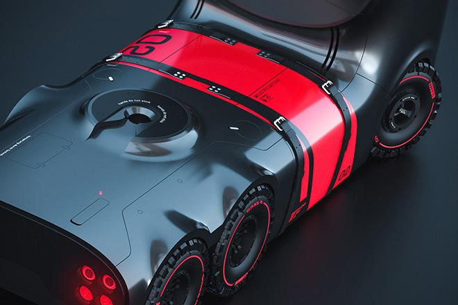 ¡The Audi Truck Project PLAN B! El Futuro Del Transporte Del Fabricante Alemán