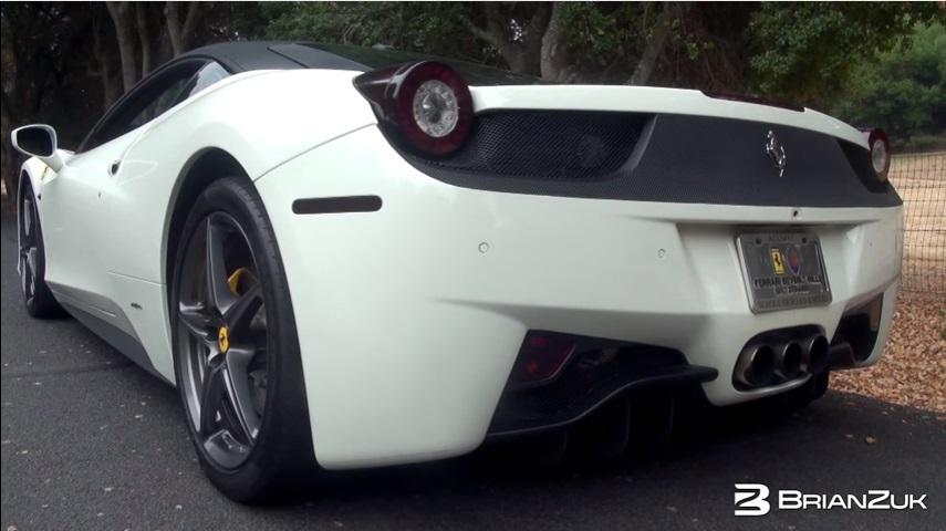 Ferrari 458 Italia Con Escape Novitec En Acción