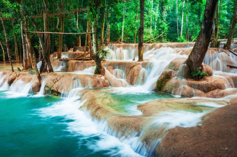 Cataratas de Kuang Si, Laos