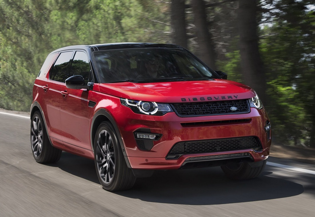 Land Rover Discovery Sport 2017