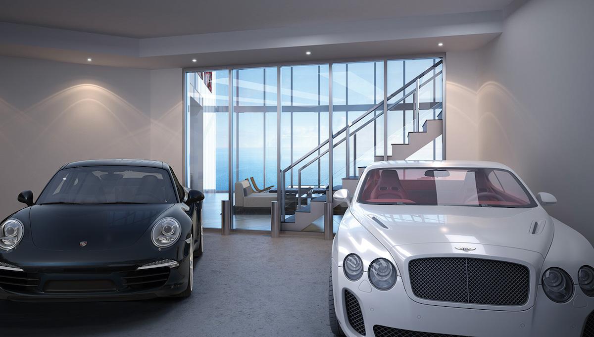 En Este Increíble Rascacielos Para Billonarios Podrás Estacionar Tú Súper Coche ¡Dentro De Tú Apartamento!